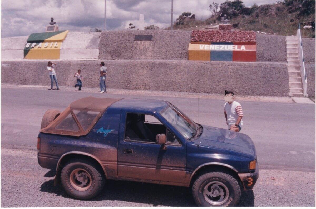 ブラジルーヴェネズエラ国境