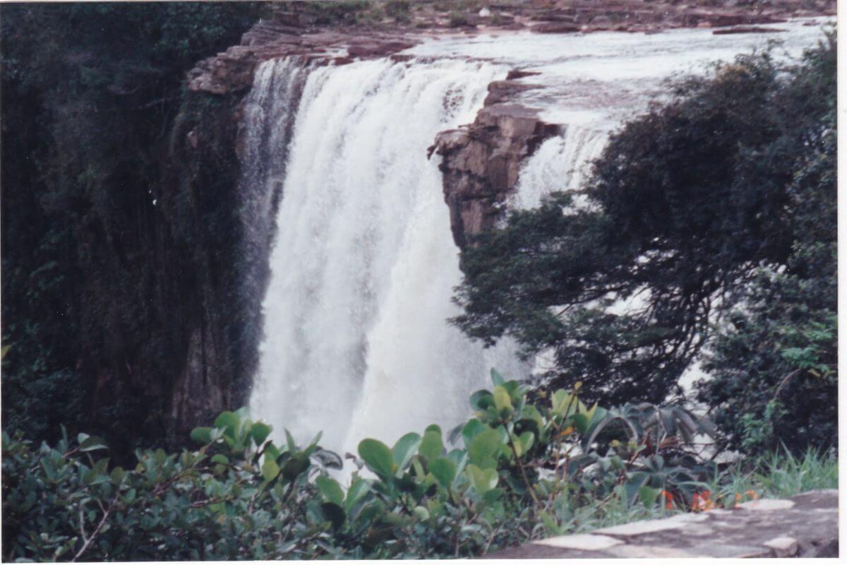 カナイマの滝