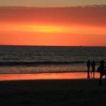 sunset of coronado