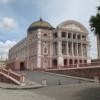 front view of teatro amazonas
